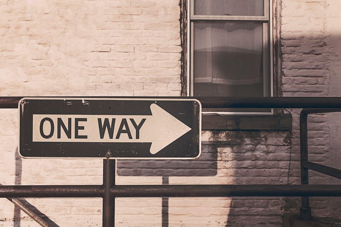 chemin-one-way